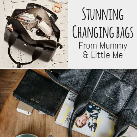 Mummy and Little Me Changing Bags and Wallets